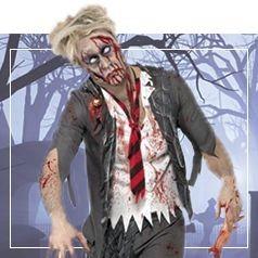 Déguisements de Zombie pour Homme