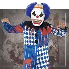 Déguisements de Clown Diabolique pour Garçon