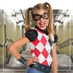 Déguisements d'Harley Quinn pour Fille