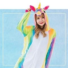 Déguisements Pyjama Licorne