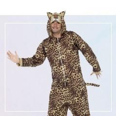 Déguisements Pyjama Léopard