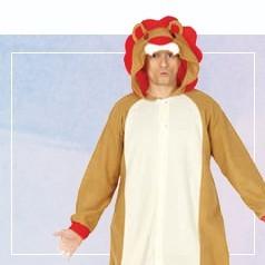 Déguisements Pyjama Lion