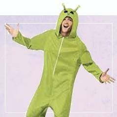 Déguisements Pyjama Alien