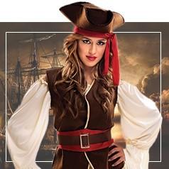 Déguisements de Pirate Femme