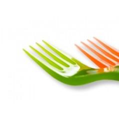 Fourchettes en Plastique