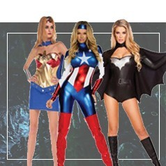 Déguisements de Super-Héros Femme