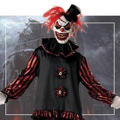 Déguisements de Clown Diabolique Adulte