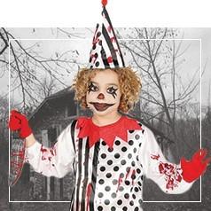 Déguisements de Clown Diabolique Enfant