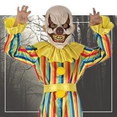 Déguisements de Clown Assassin Enfant