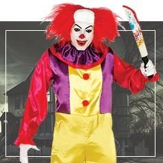 Déguisements de Clown Assassin Adulte