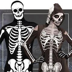 Déguisements de Tête de Mort Adulte