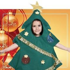 Déguisements Sapin de Noël Enfant