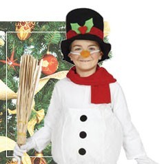 Déguisement Bonhomme de Neige pour Enfant