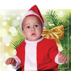 Déguisements de Père Noël Bébé