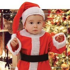 Déguisements de Père Noël Enfant