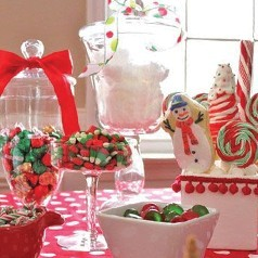 Bar à Bonbons Pour Noël