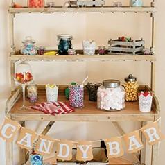 Candy Bar Rustique