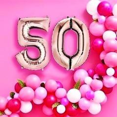 Ballons 50 Ans