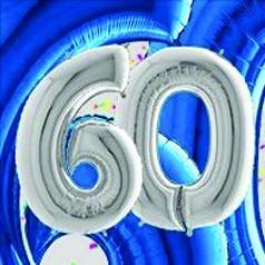 Ballons 60 Ans