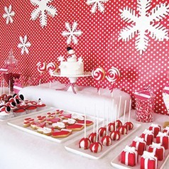 Sweet Table Pour Noël