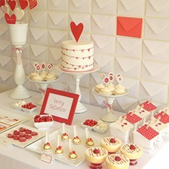 Sweet Table Pour Saint Valentin