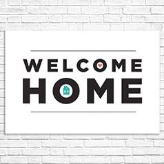 Pancartes Bienvenue