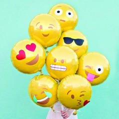 Ballons Smiley