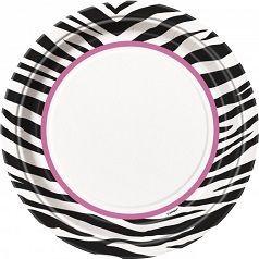 Anniversaire Pink Zebra