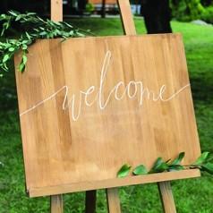 Pancarte de Bienvenue Mariage
