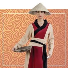 Déguisements Chinoise Femme