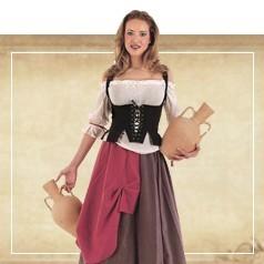 Déguisements Moyen-Âge Femme