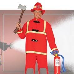 Déguisements Pompier Homme