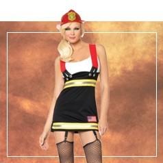 Déguisements Pompier Femme