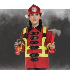 Déguisements Pompier Fille