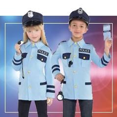 Déguisements de Policier Enfant