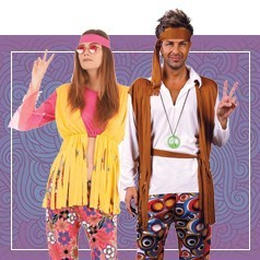 Déguisements Hippie Adulte