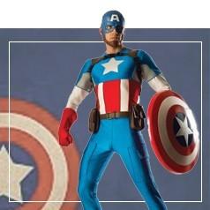 Déguisements de Captain America Homme