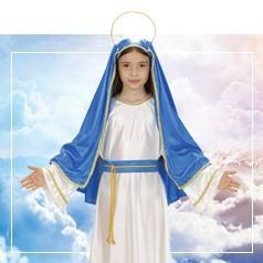 Déguisements de Vierge Marie pour Enfant