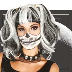 Perruque Halloween