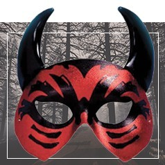 Masques Loup Halloween