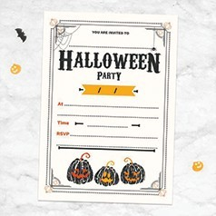Invitations Halloween