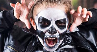Vente de maquillage pour Halloween