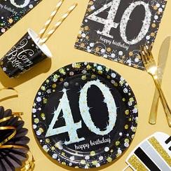 Magasin darticles d'anniversaire 40 ans