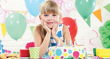 Magasin d'anniversaire fille
